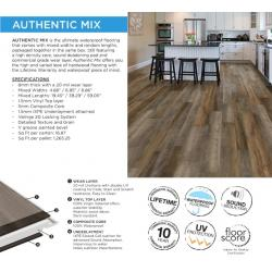 Authentic Mix - Collection - LVP Luxury Vinyl Plank