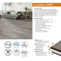 Classic Strip - Collection - LVP Luxury Vinyl Plank