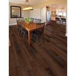 "Benson Hickory 3/8"" x 5"" - Engineered Click Hardwood Flooring"