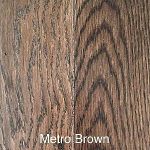 Grand Estate - Metro Brown - Solid Hardwood