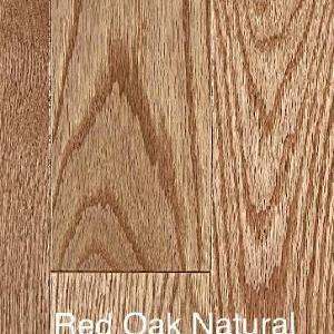 Grand Estate - Red Oak Natural - Solid Hardwood