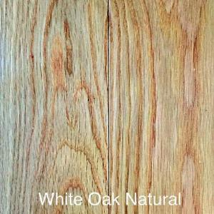 Grand Estate - White Oak Natural - Solid Hardwood