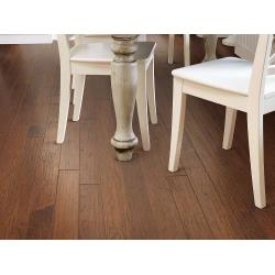 "Arbor Place 3/8"" x 5"" - Series - Engineered Hand Scraped Hardwood Flooring"
