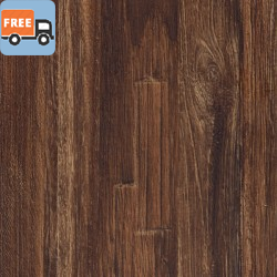 "Prime Time Click - Matte Teak 7.5"" Wide - Free Shipping + 300 sq ft - LVP Luxury Vinyl Plank - Click Lock"